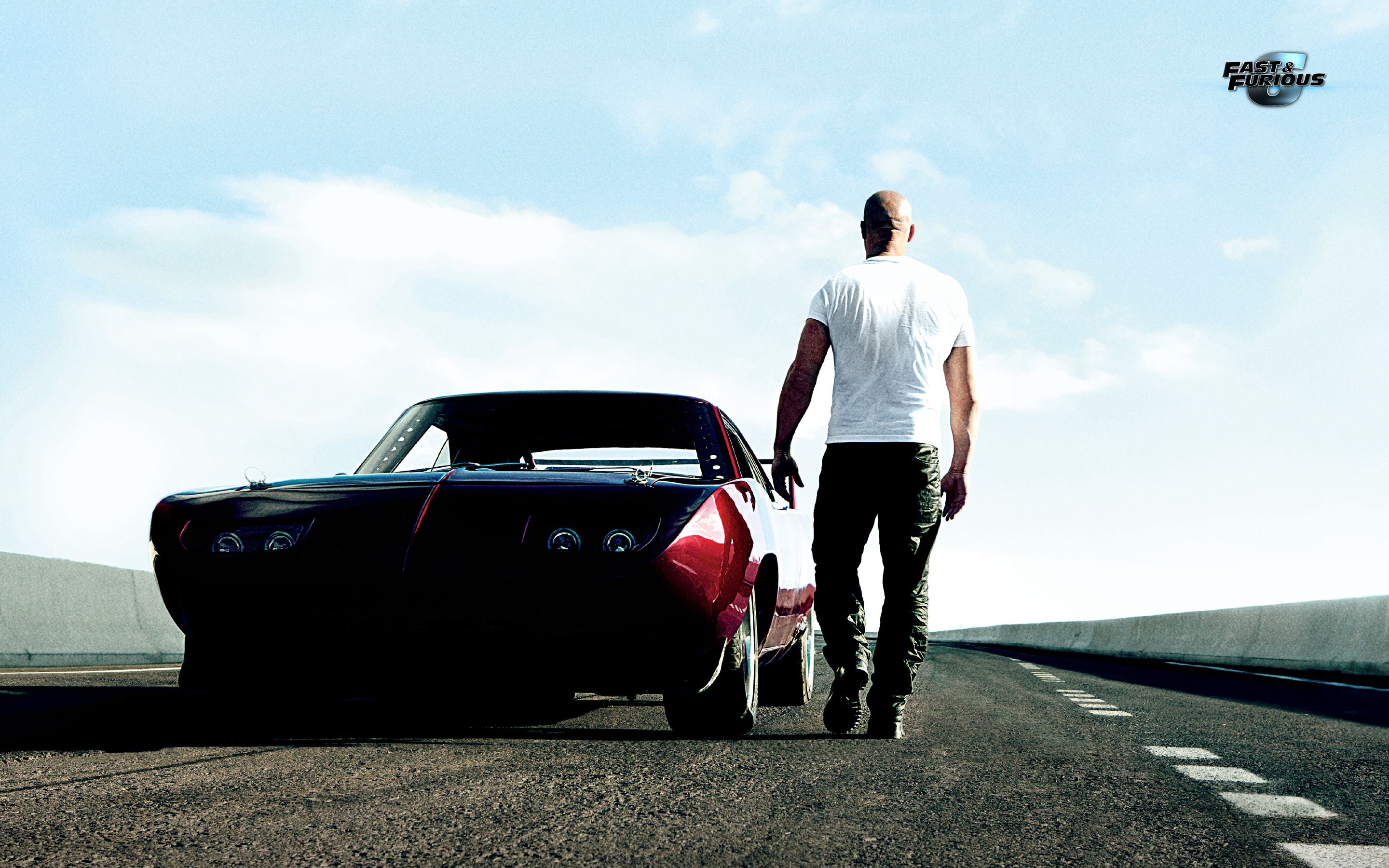 Vin Diesel Muscle Car Fast and Furious 6 HD Wallpaper 4371 2880x1800