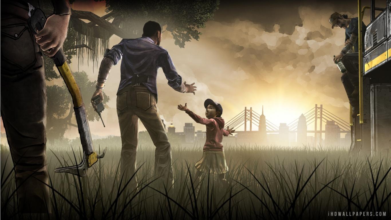 The Walking Dead Game HD Wallpaper   iHD Wallpapers 1366x768