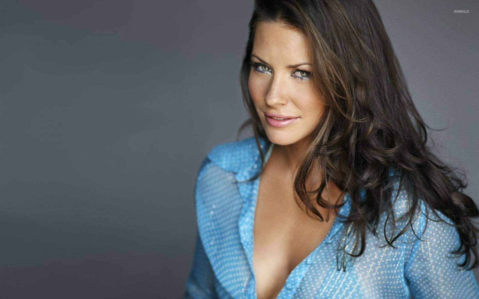 Evangeline Lilly wallpaper   Celebrity wallpapers   223 1366x768
