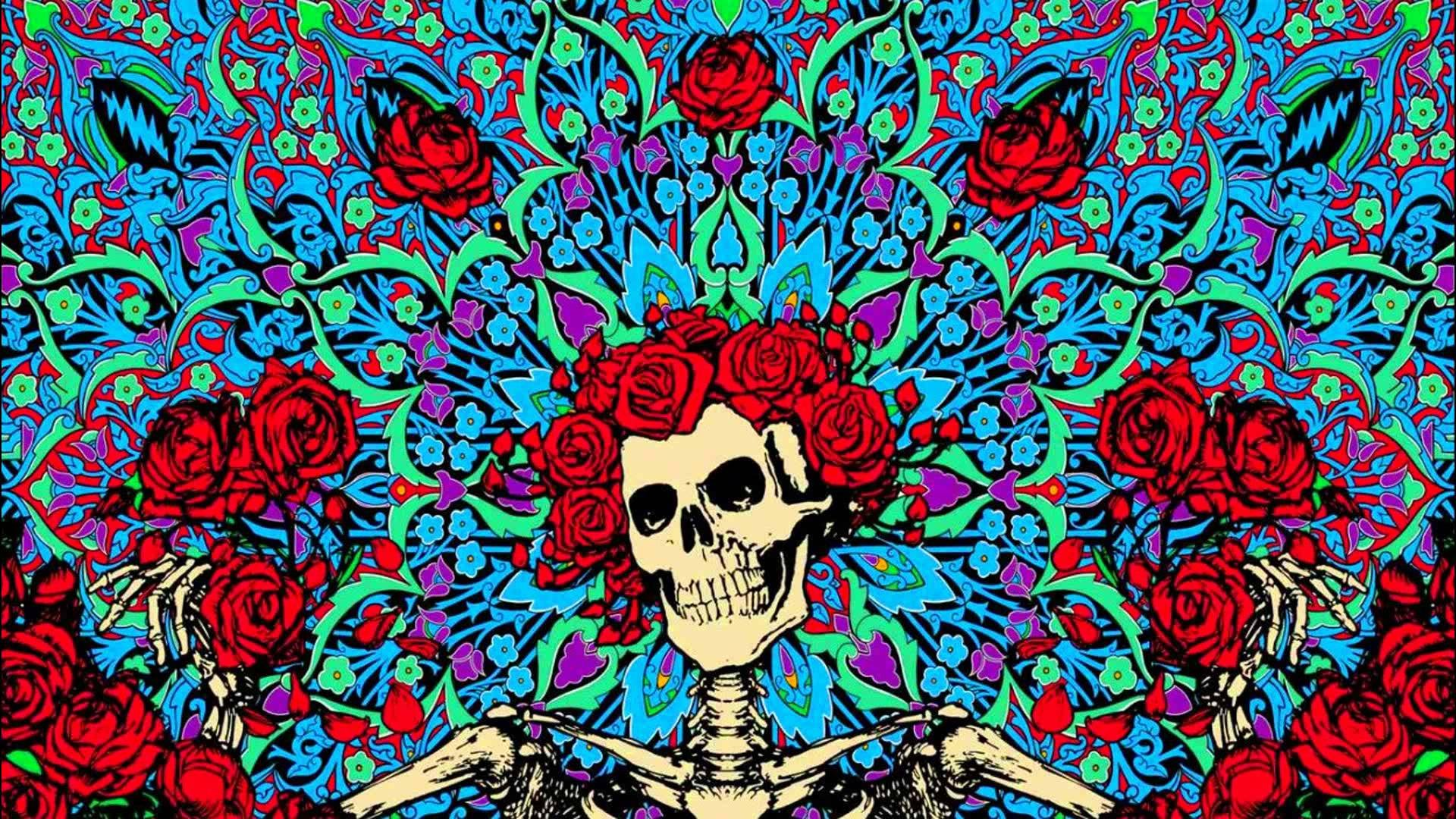 GRATEFUL DEAD classic rock hard 26 wallpaper background 1920x1080