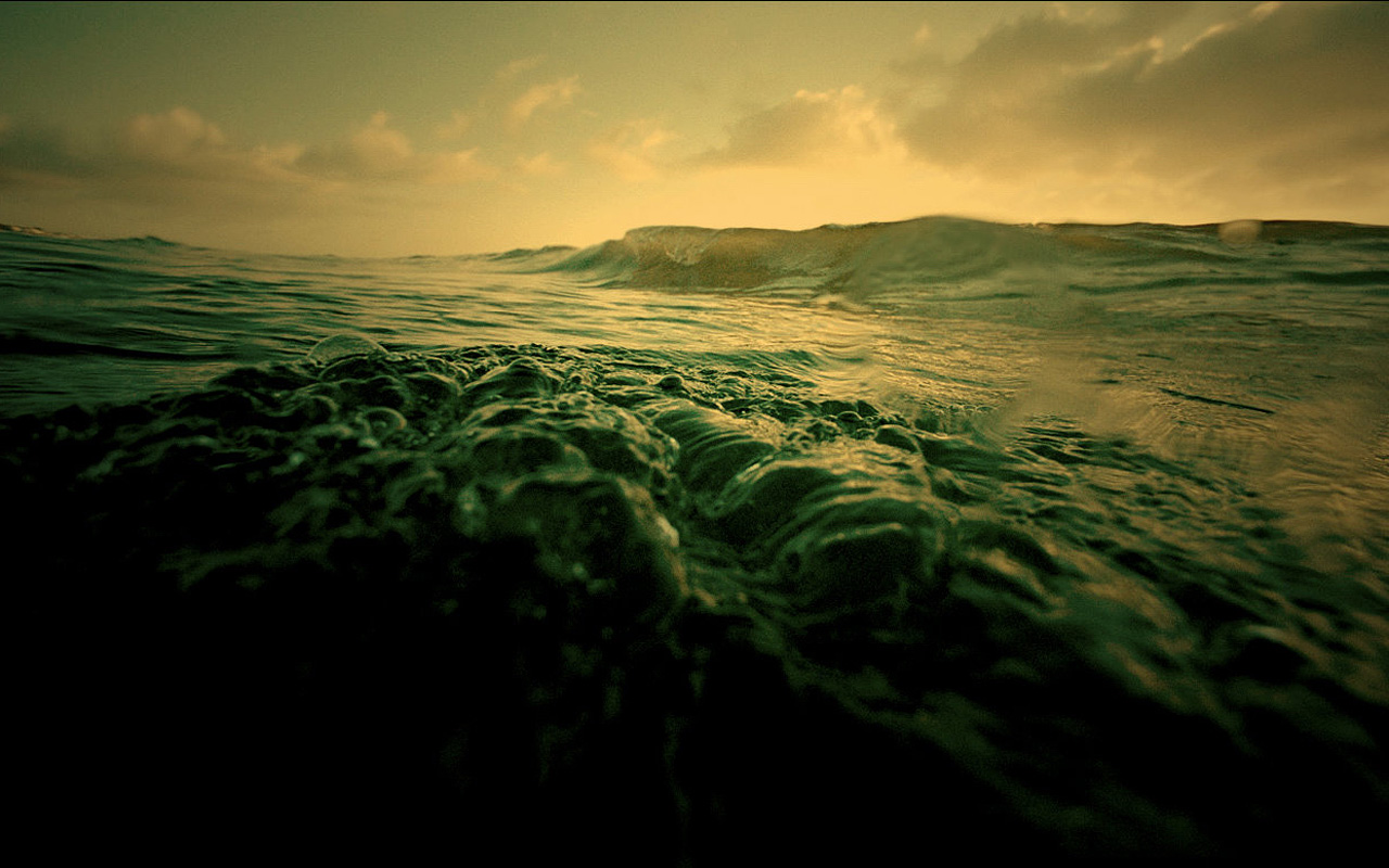 The Deep Ocean is a great wallpaper for your computer desktop and 1280x800