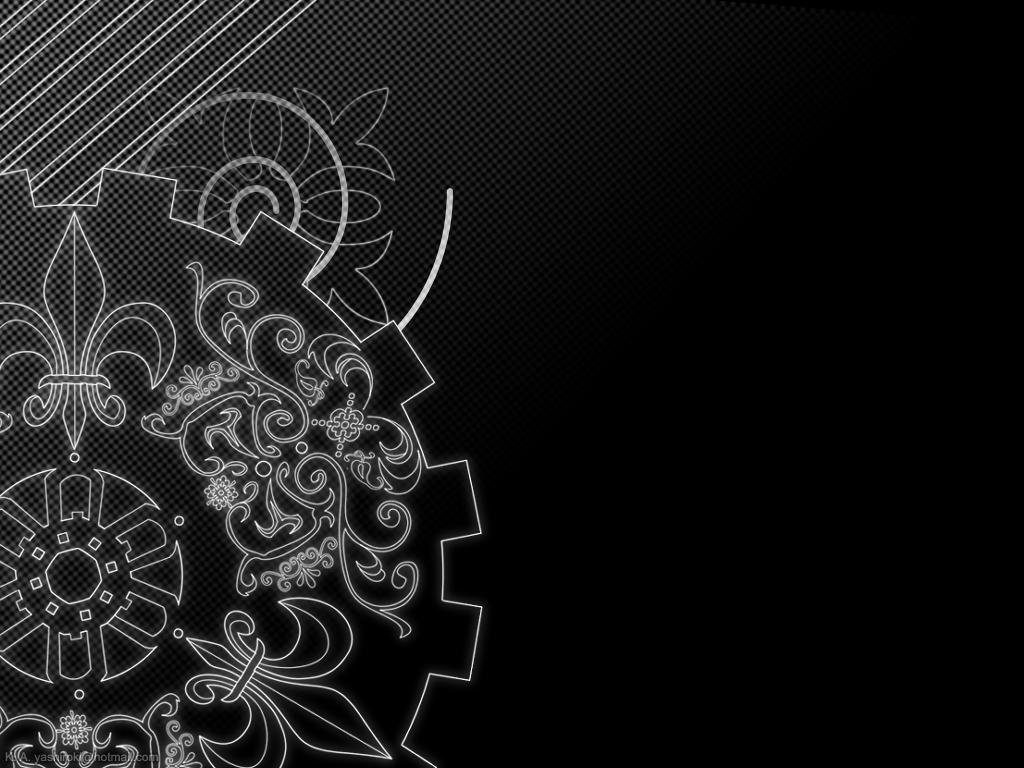 Dual Monitor Steampunk Wallpaper