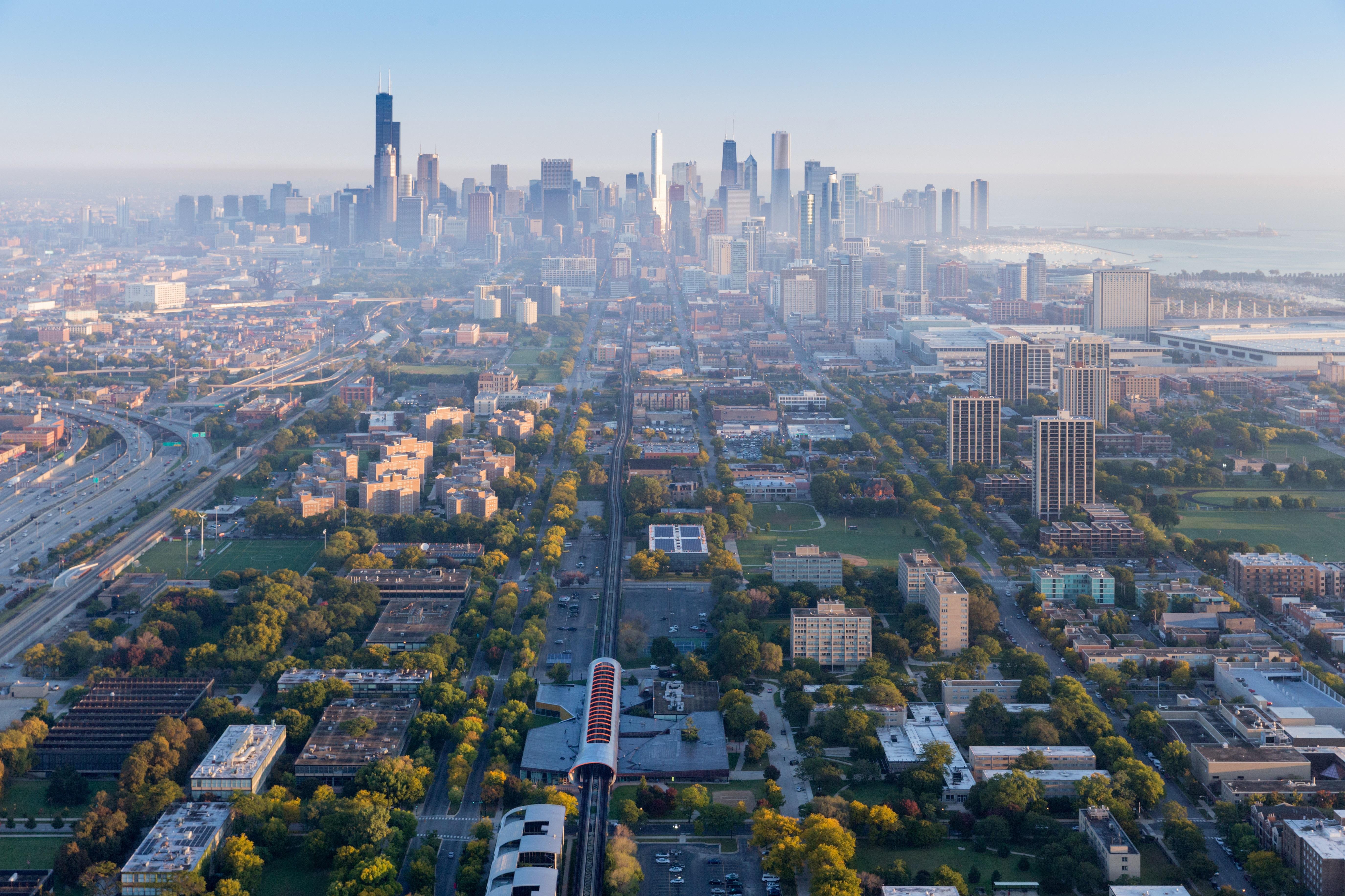 Chicago Hd Background 5500x3666