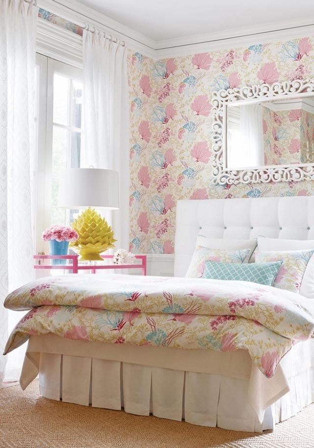 Wallpaper And Matching Bedding Wallpapersafari