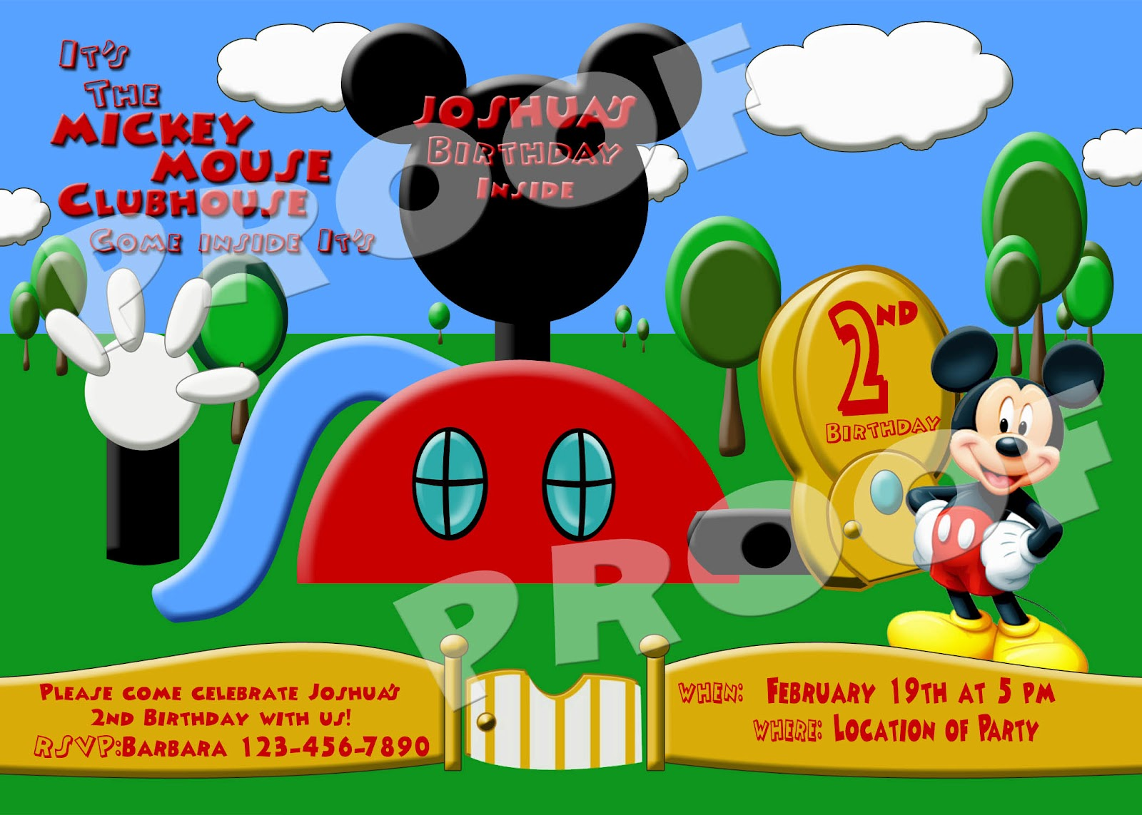 Mickey Mouse Clubhouse Birthday Wallpaper Picture 1600x1143