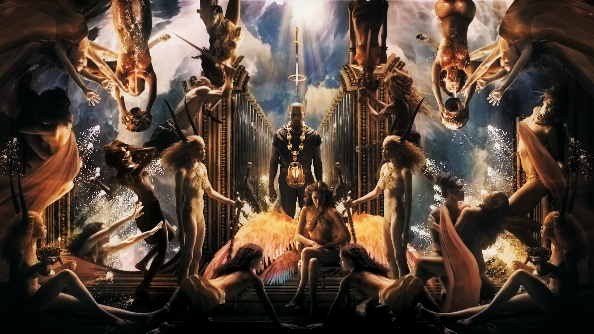 Kanye West POWER by Gody00 1920x1080