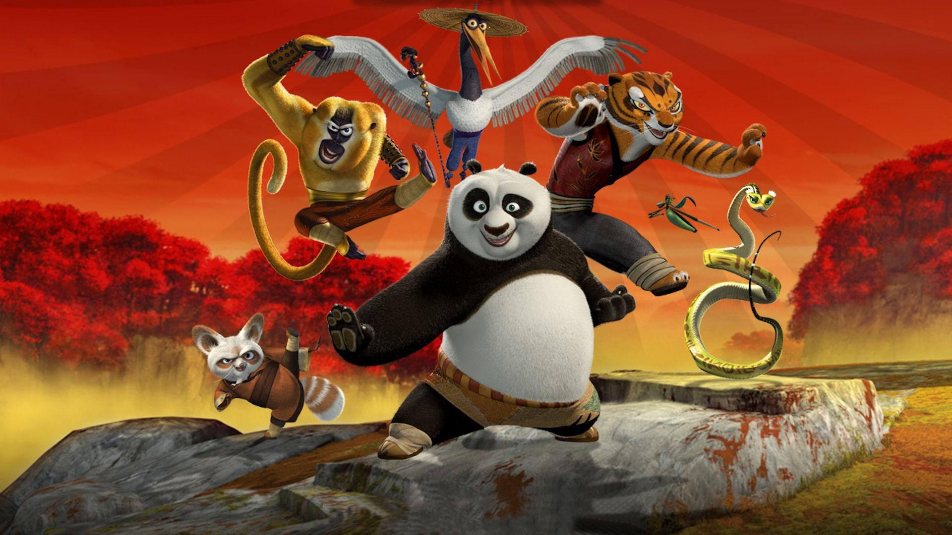 Kung fu panda hd wallpaper wallpapersafari - Kung fu panda wallpaper ...
