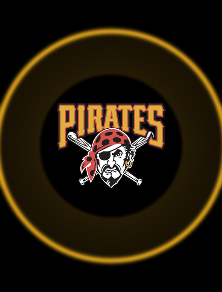 Pittsburgh Pirates Logo Wallpaper for HTC One X 450x590
