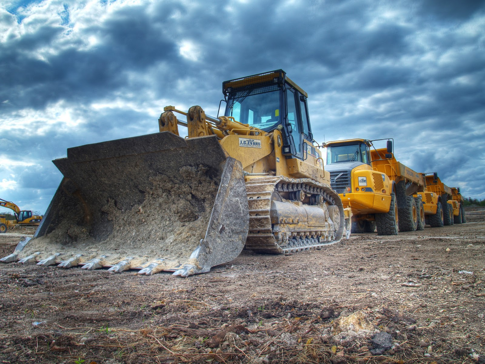 Construction Equipment Wallpaper Wallpapersafari