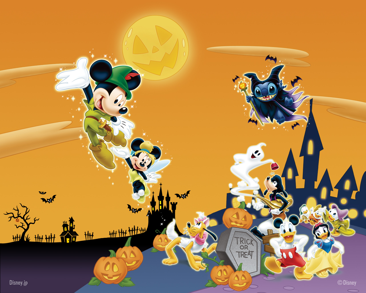 disney halloween wallpaper halloween wallpaper halloween 1280x1024