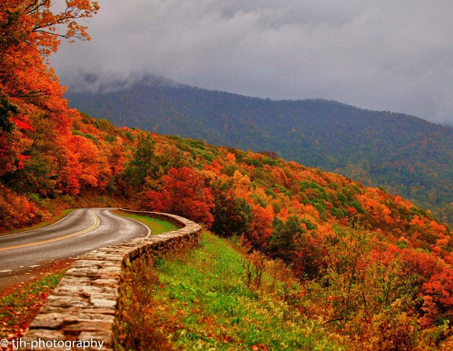 appalachian blue ridge mountains wallpaper - photo #1