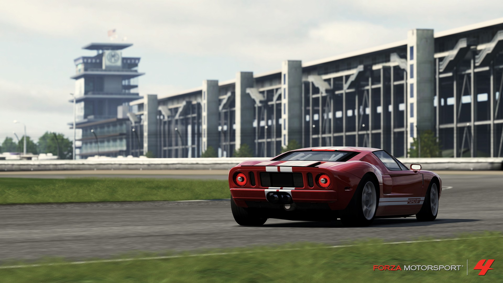 Ford GT Wallpaper 1920x1080 Ford GT Forza Motorsport 4 1920x1080