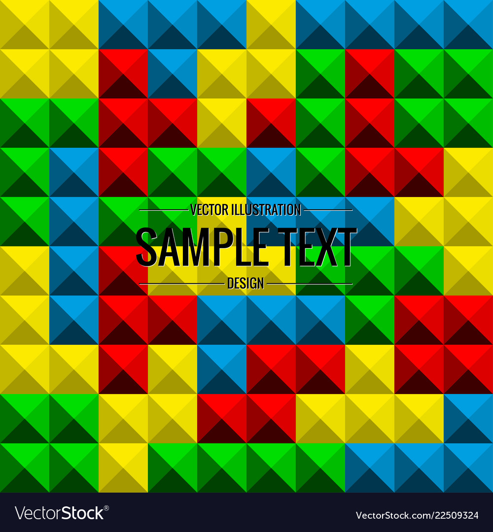 Tetris game background seamless pattern Royalty Vector 1000x1080