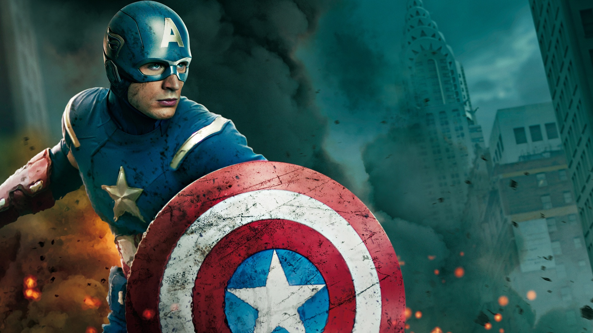 The Avengers Captain America Wallpapers HD Wallpapers 1920x1080