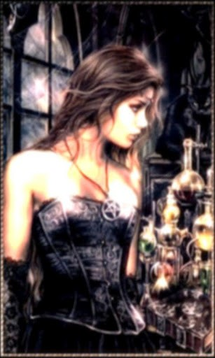 View bigger   Wiccan Girl Live Wallpaper for Android screenshot 307x512