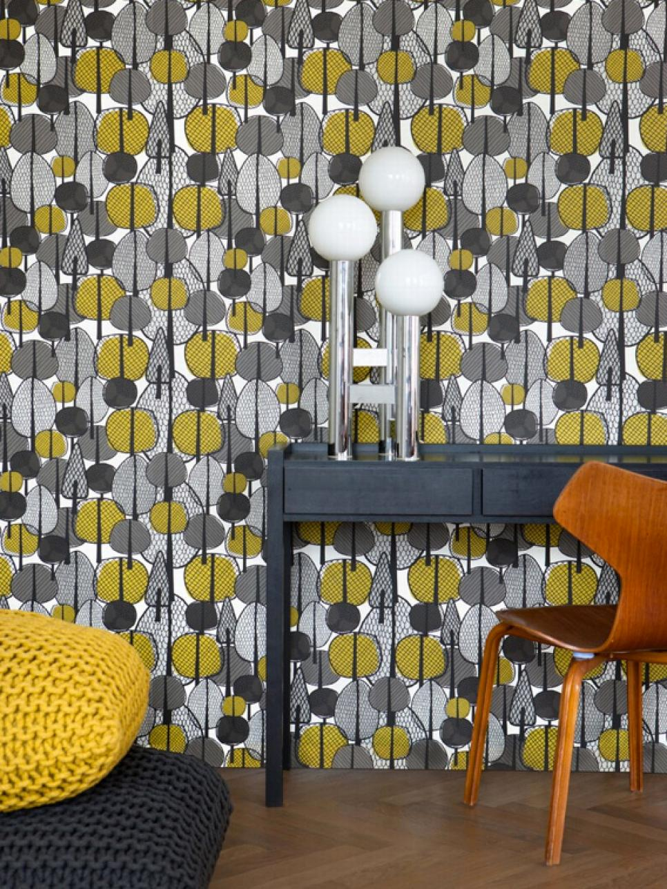 Vintage Wallpaper Ideas Interior Design Styles and Color Schemes for 966x1288