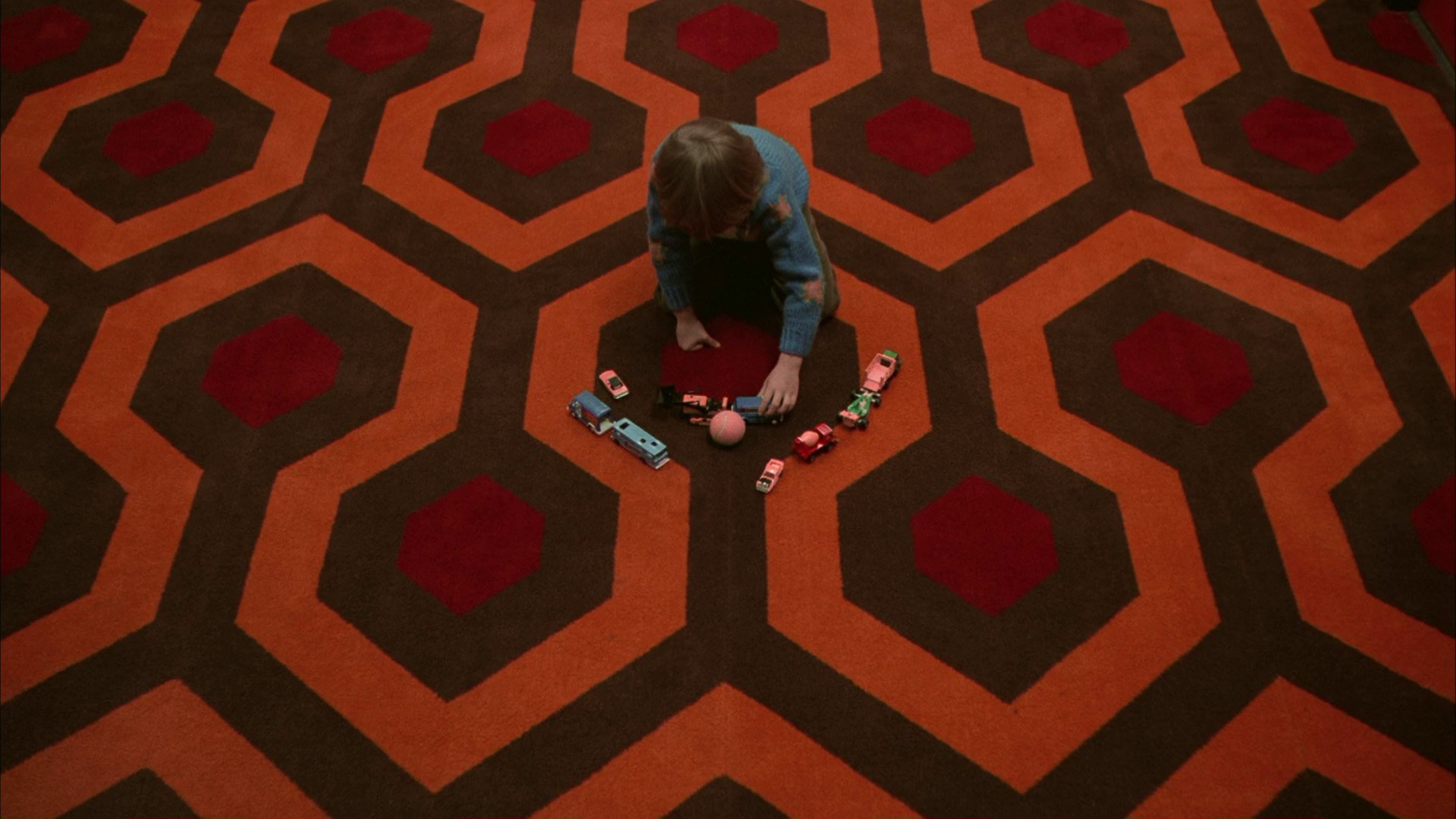 Checkmate The story behind Kubricks carpet in The Shining 1920x1080