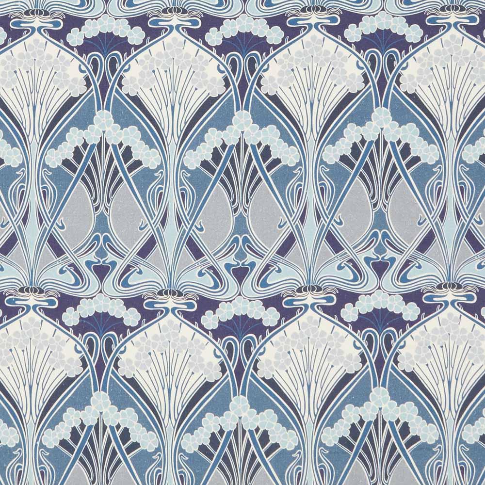 Liberty Interiors Fabric Ianthe Bloom Multi Lapis C Ladbroke Linen 1000x1000