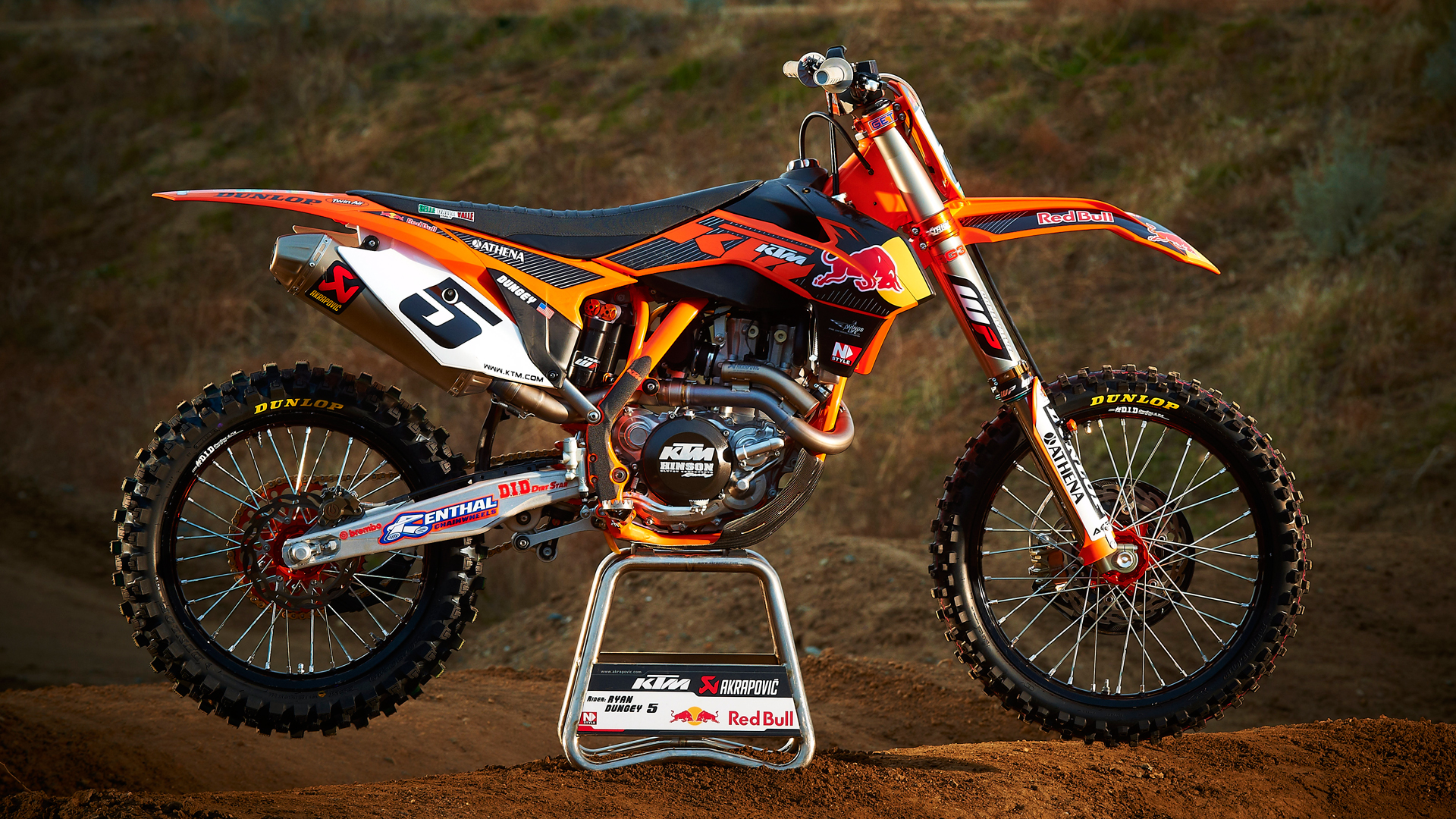 KTM motocross wallpaper HD Desktop Wallpaper 1920x1080