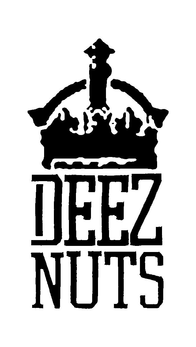 Deez Nuts crown logo iphone 5 640x1136 wallpaper 640x1136