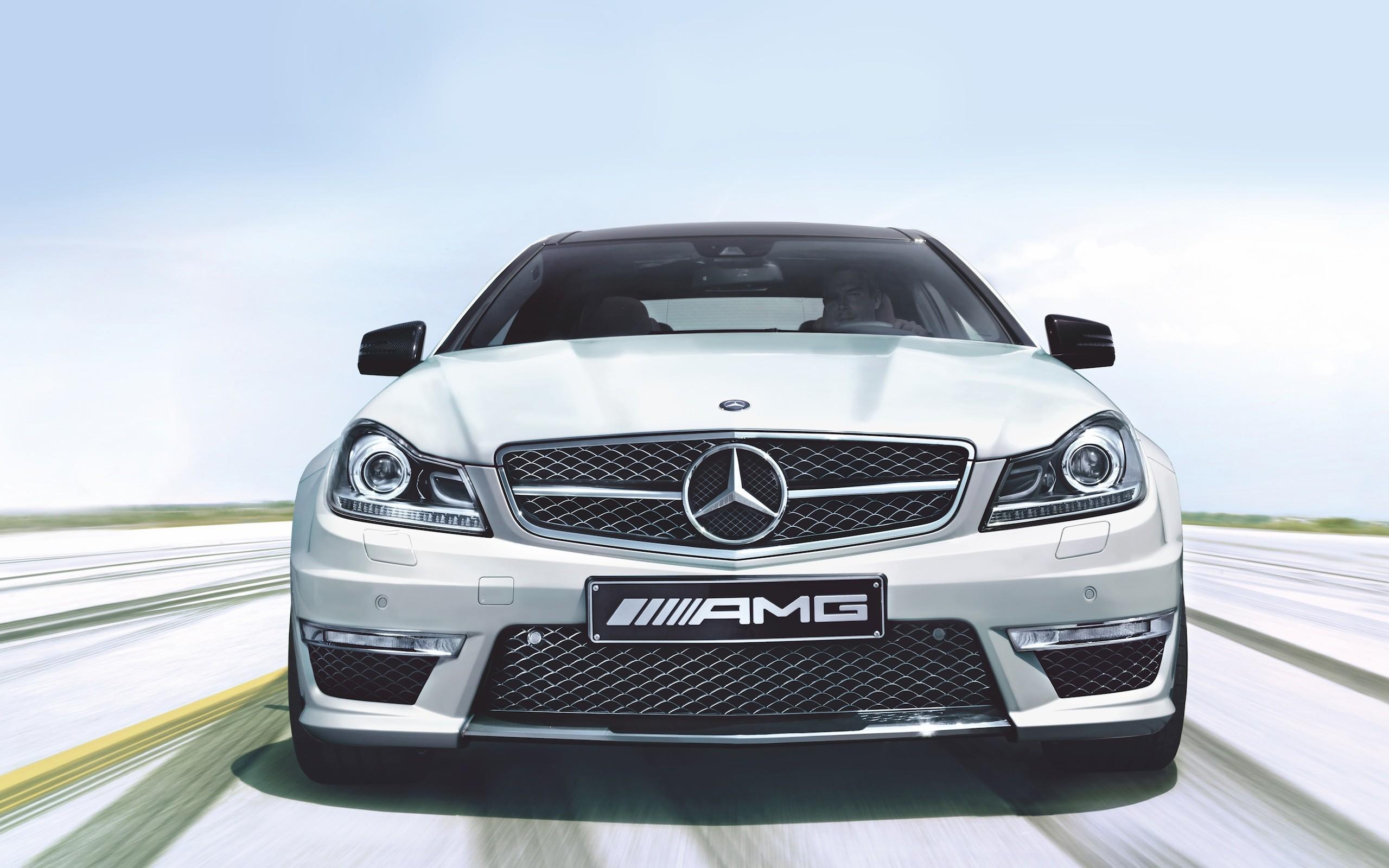 Cars mercedes benz c63 amg wallpaper 2560x1600