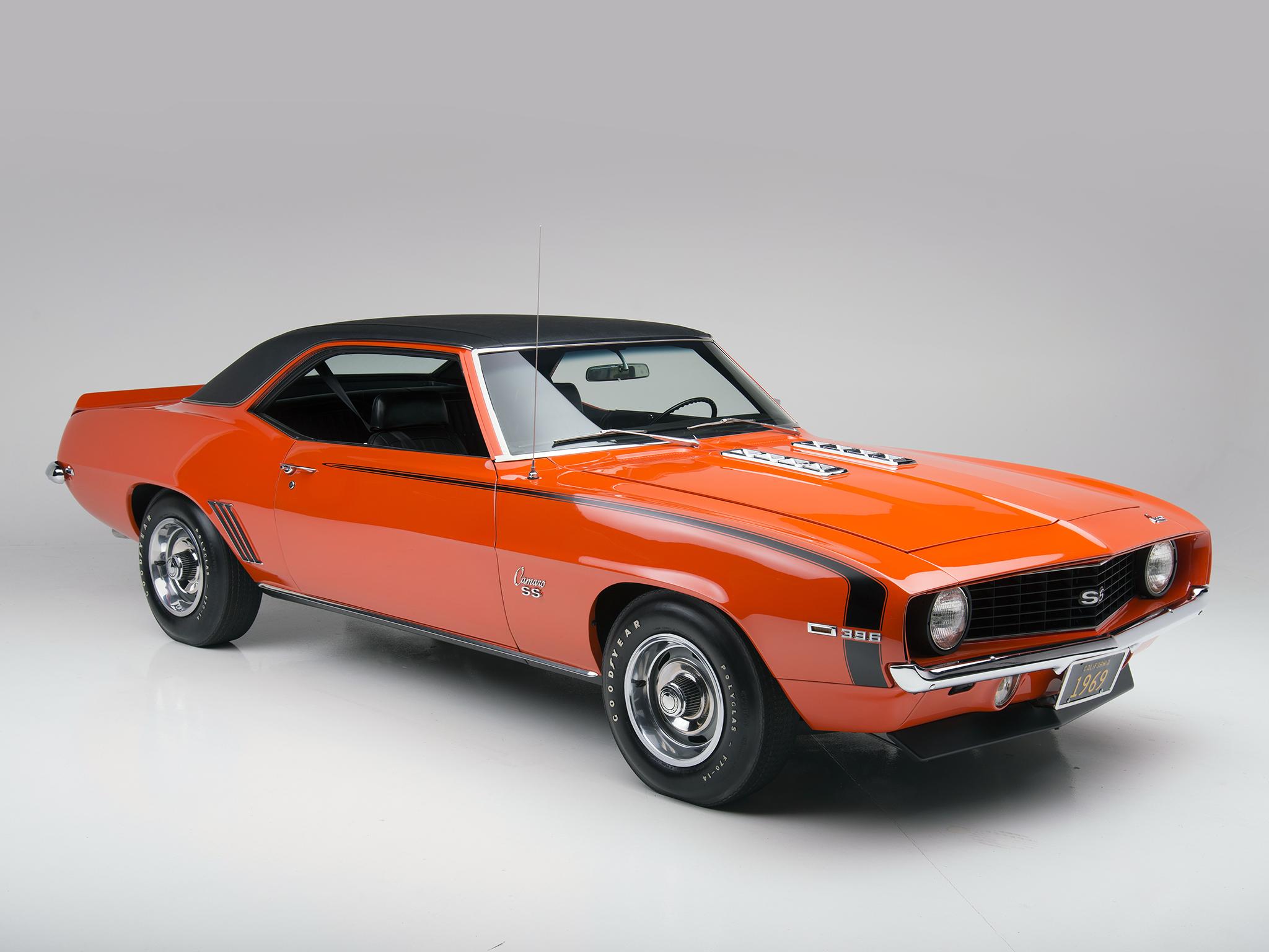 1969 Chevrolet Camaro S 396 Classic Muscle T Wallpaper 2048x1536