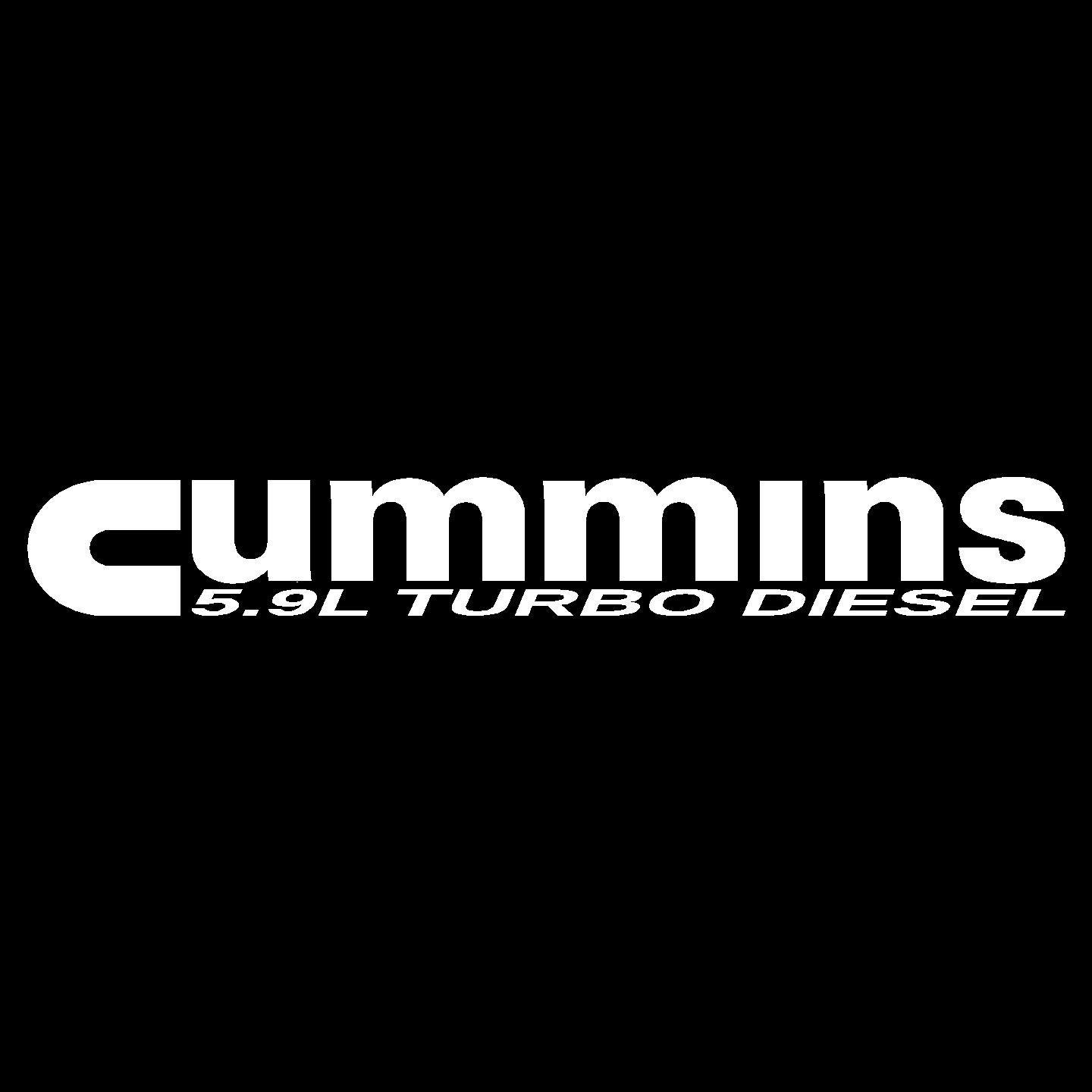 Home Cummins 59L Turbo Diesel   Hood Decal Pair 1 1440x1440