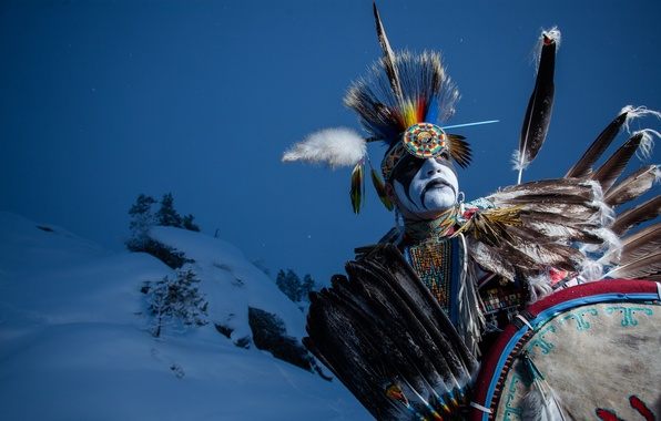 Wallpaper indian dancer aboriginal native images for 596x380