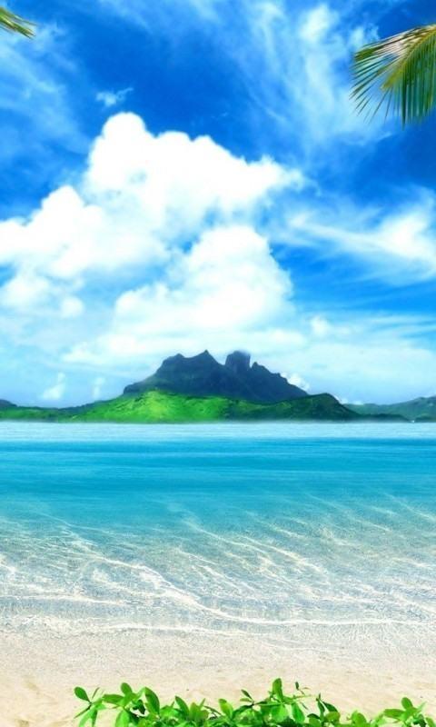 Island Paradise Wallpaper Tropical Island...