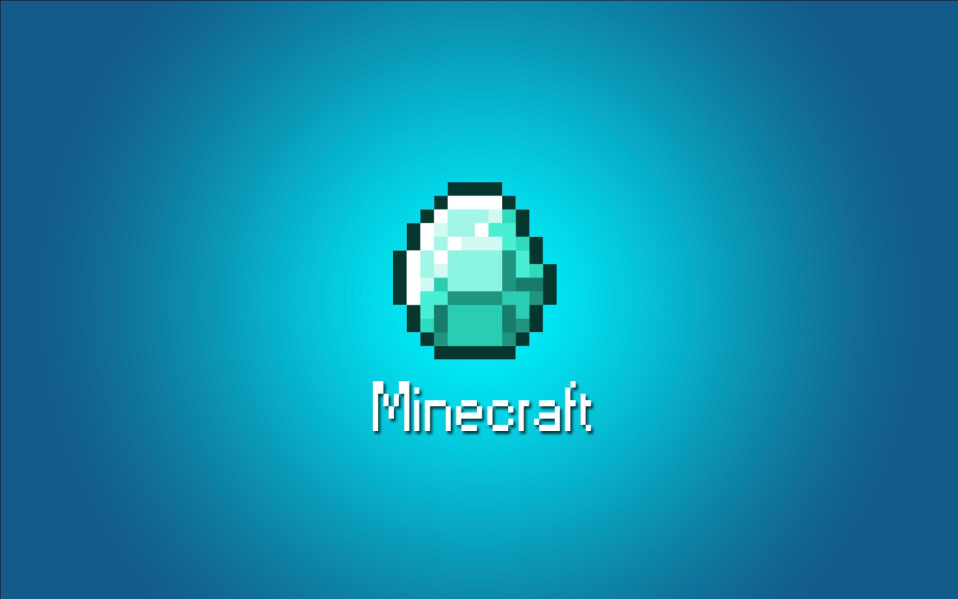 Minecraft Diamond Rush Wallpaper 1920x1200