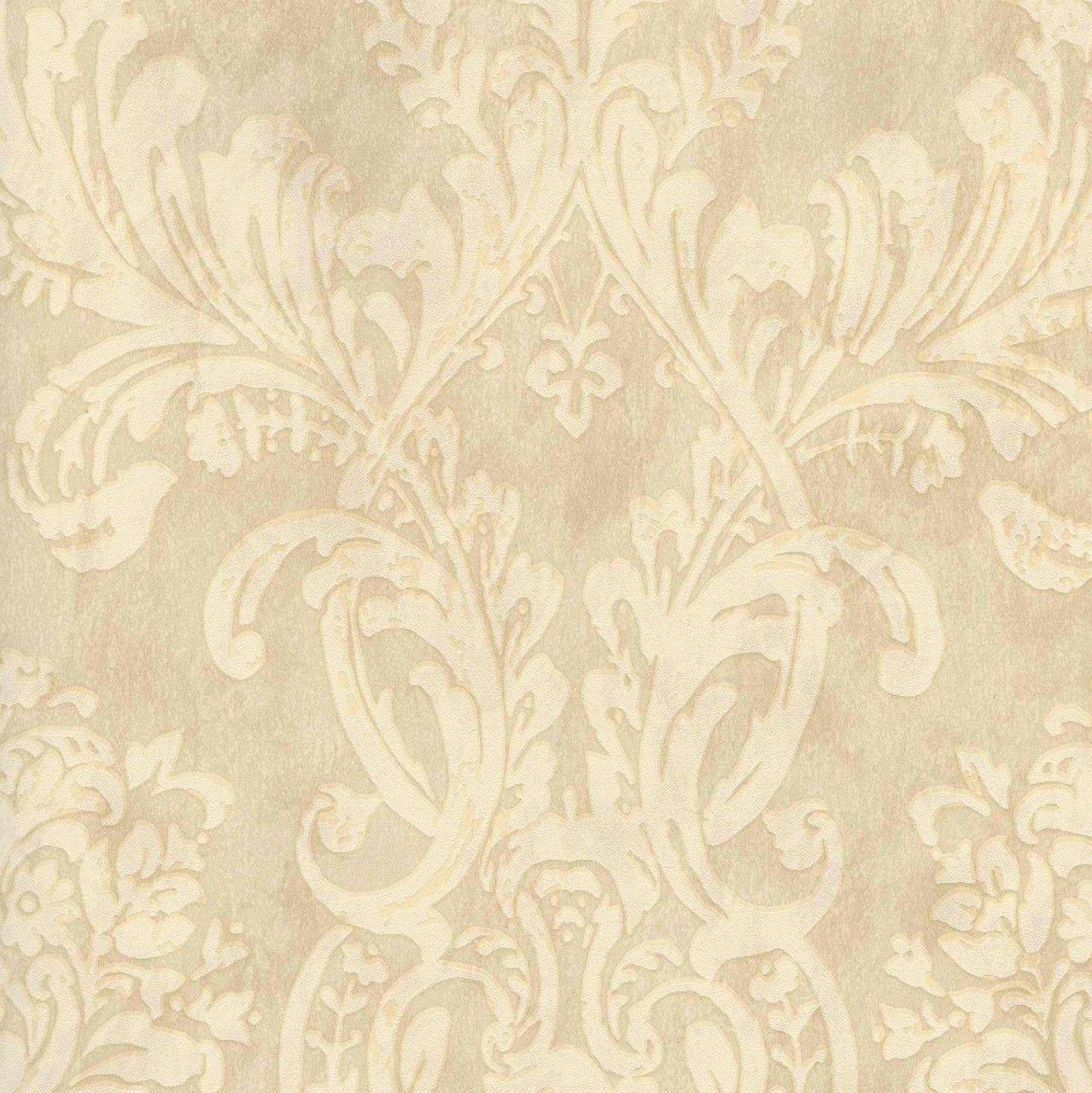antique cream wallpaper - photo #10