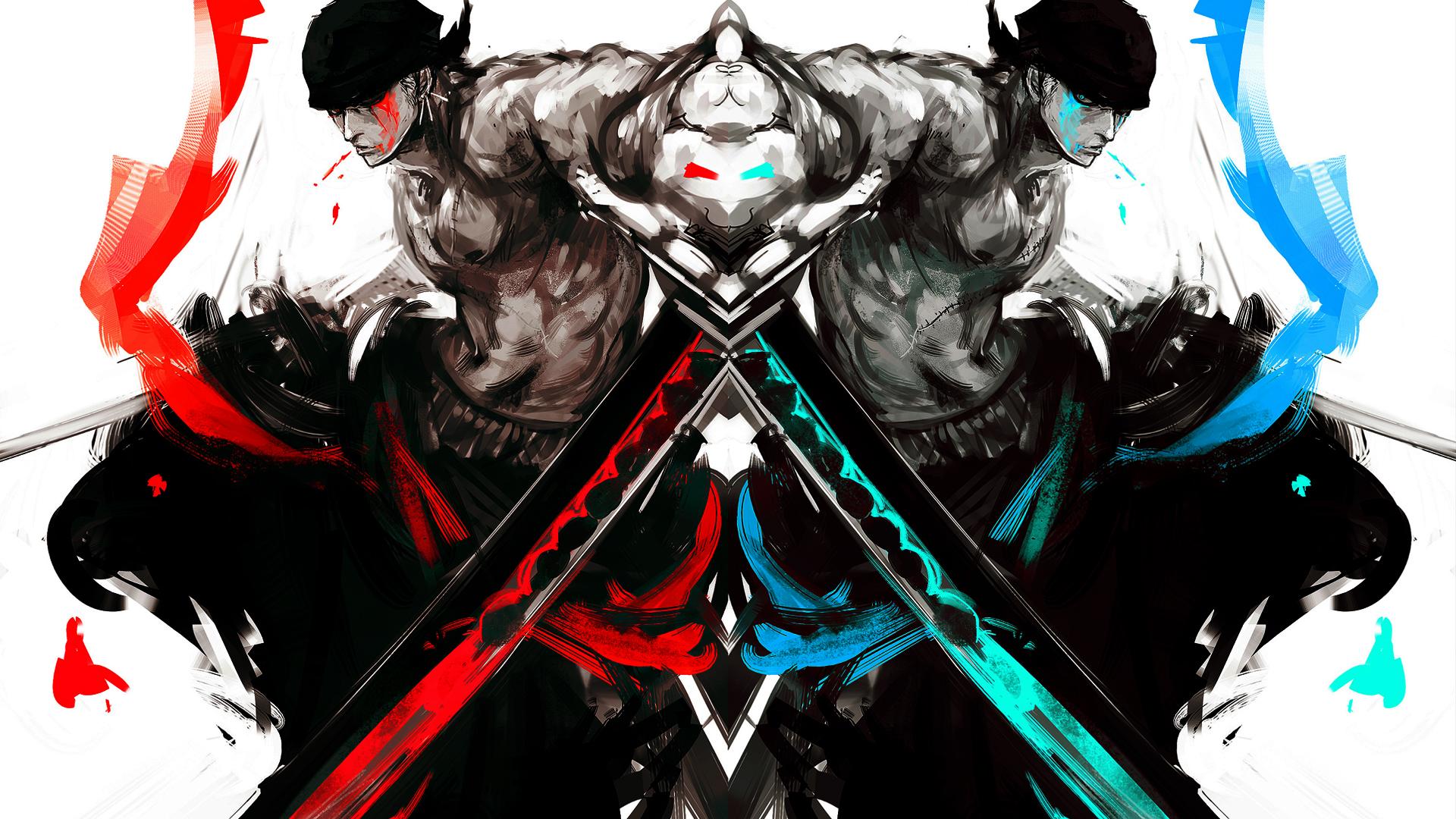 roronoa zoro one piece anime hd 1920x1080 1920x1080