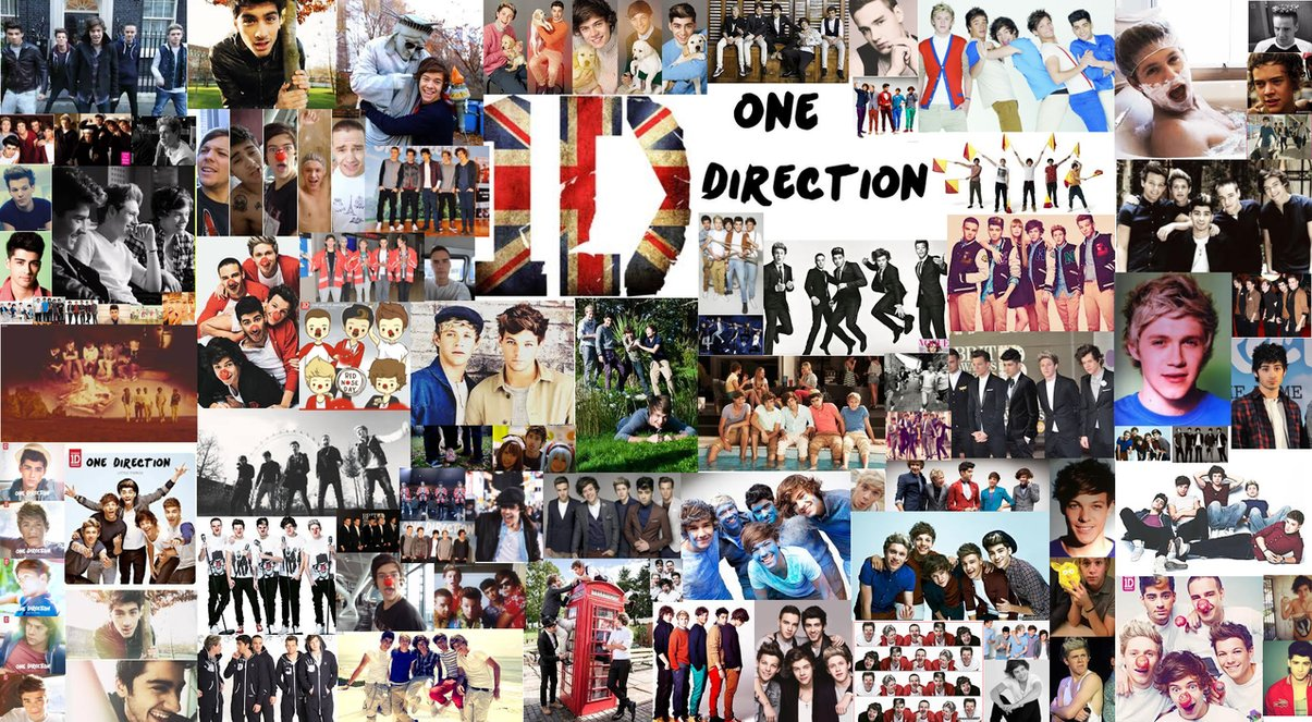Tumblr collages one direction images amp pictures becuo - One Direction Wallpaper By Xxdarkdeviousdevilxx On Deviantart