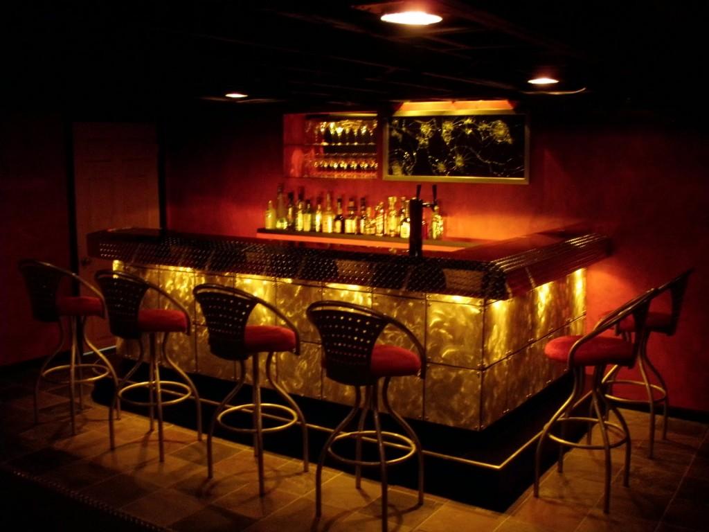 Wallpaper for home bars wallpapersafari - Bar area design ...