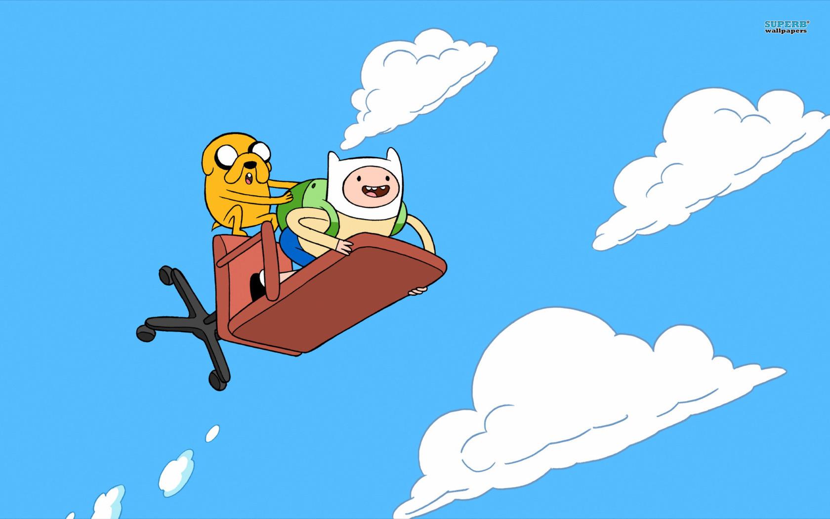 Finn And Jake Adventure Time 1680x1050 pixel Popular HD Wallpaper 1680x1050