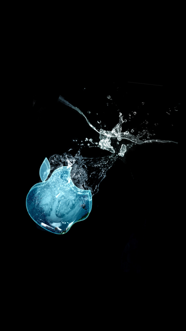 Apple Ice iPhone 5 wallpaper   8496   The Wondrous Pics 640x1136