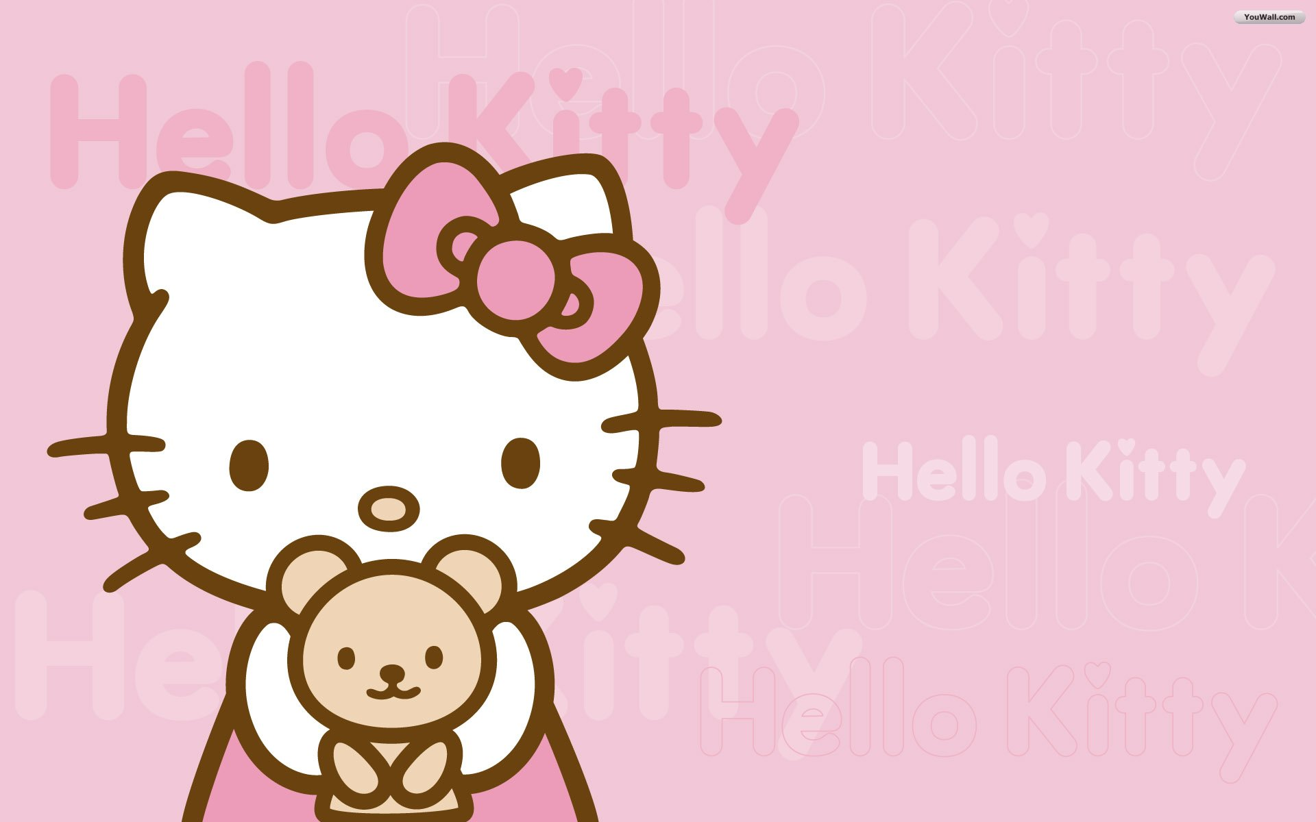 Pink Hello Kitty Wallpaper   wallpaperwallpapersfree wallpaper 1920x1200