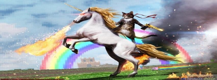 Microsoft Sticker Unicorn Ninja Cat 851x315