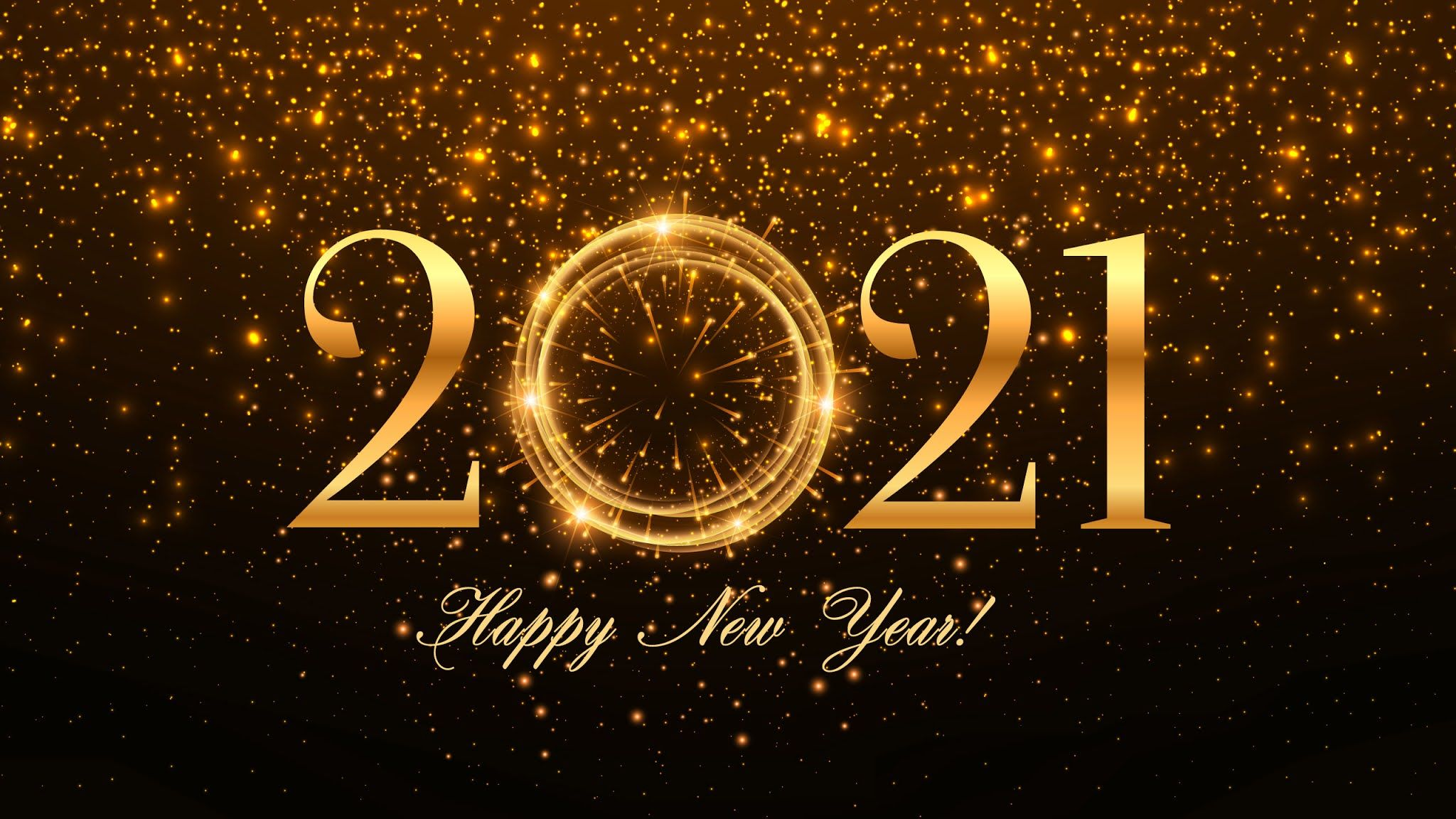 Happy New Year 2021 Wallpapers   Top Happy New Year 2021 2048x1152