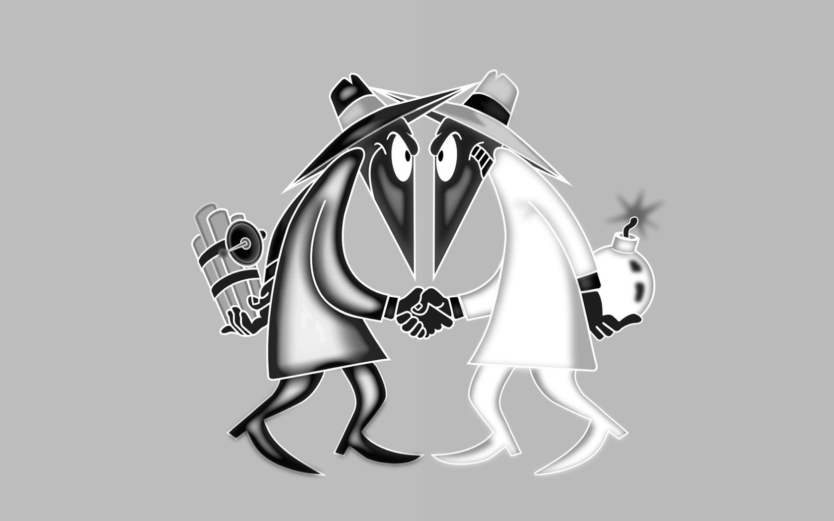 spy vs spy Computer Wallpapers Desktop Backgrounds 1680x1050 Id 1680x1050