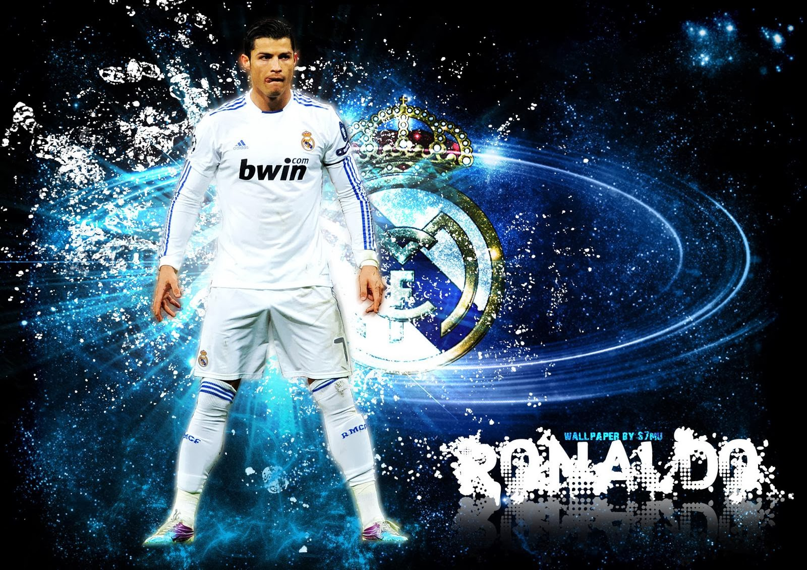 Cristiano Ronaldo Real Madrid HD Wallpaper 1600x1129