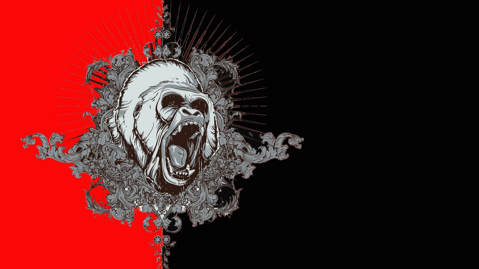 39 Hd Gorilla Wallpaper On Wallpapersafari
