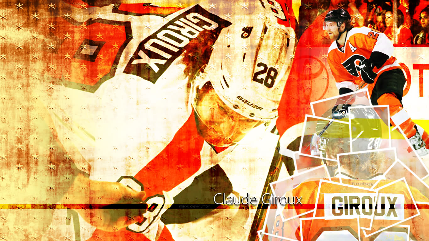 desktop wallpaper of Claude Giroux Click here for the full version 1366x768