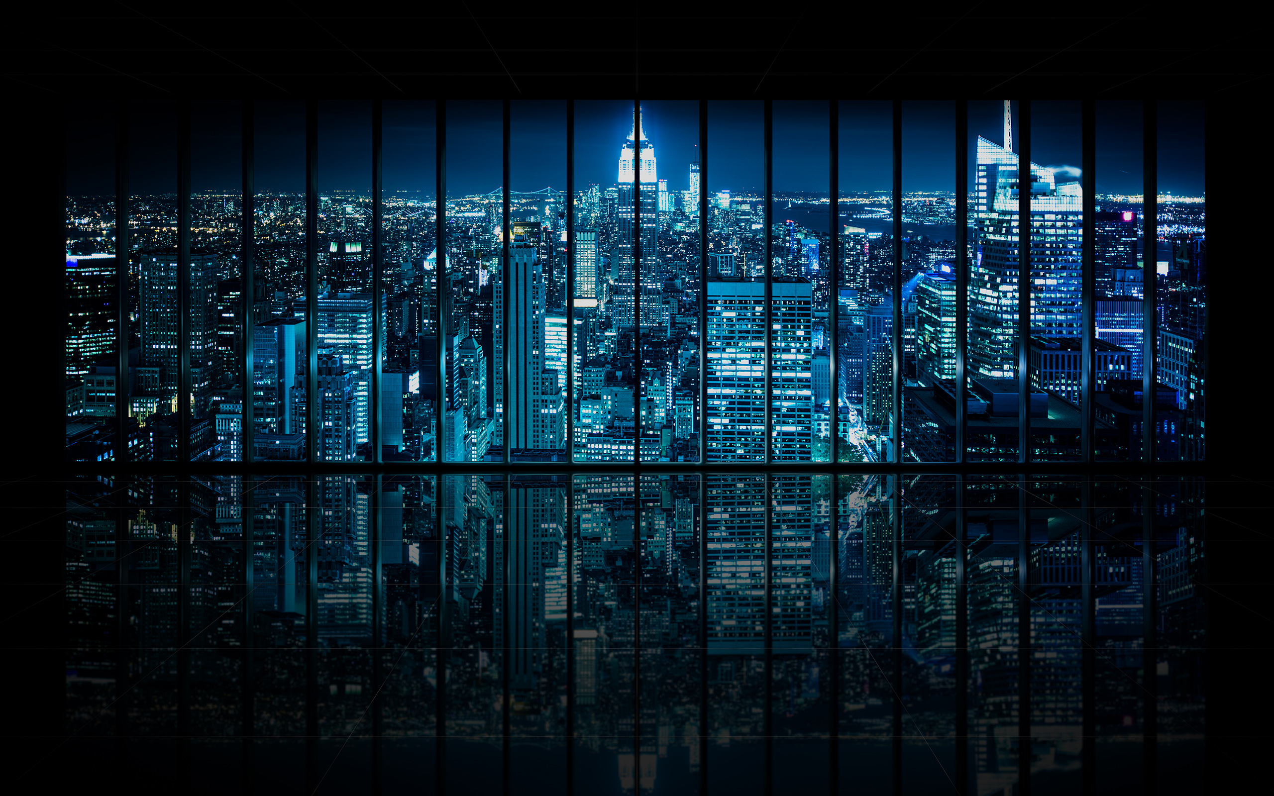 Kamp Photography Window to Gotham City Empty Dominic Kamp 2560x1600