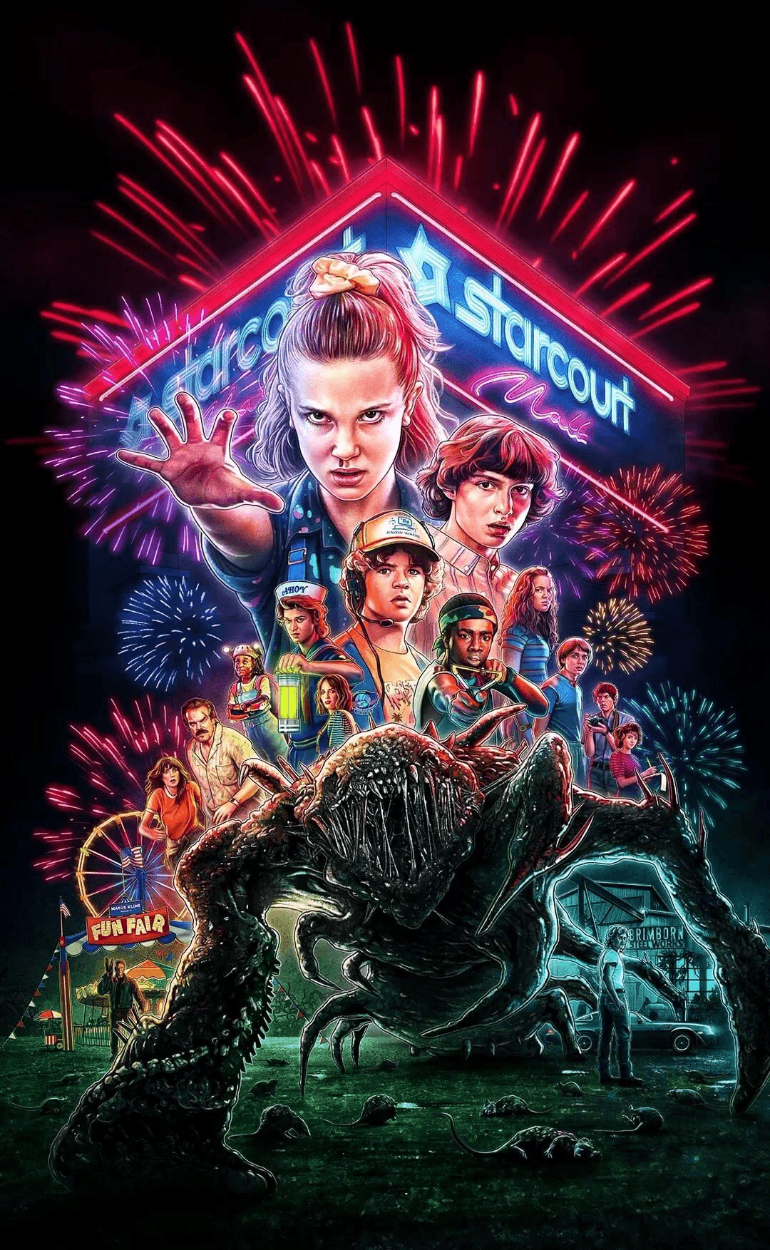 Stranger Things Wallpaper Android   KoLPaPer   Awesome HD 1080x1753