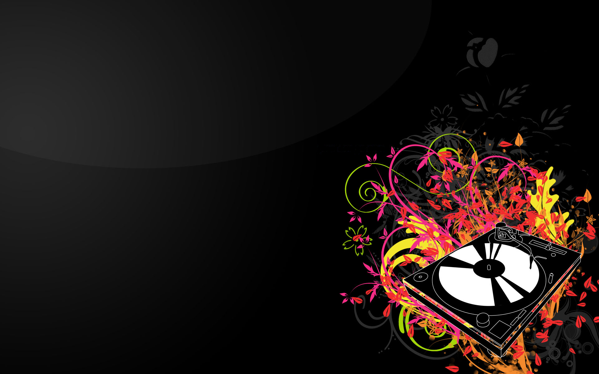 Wallpapers Abstract DJ Myspace Backgrounds Abstract DJ Backgrounds 1920x1200
