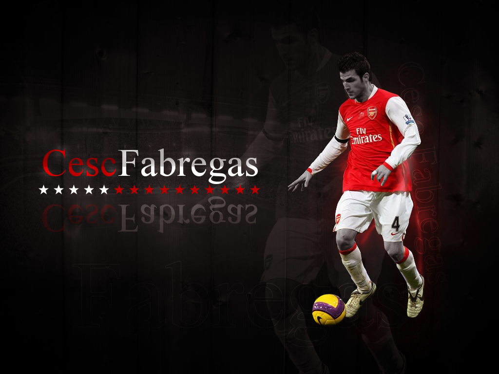 Download Cesc Fabregas Wallpapers High Resolution and Quality 1024x768