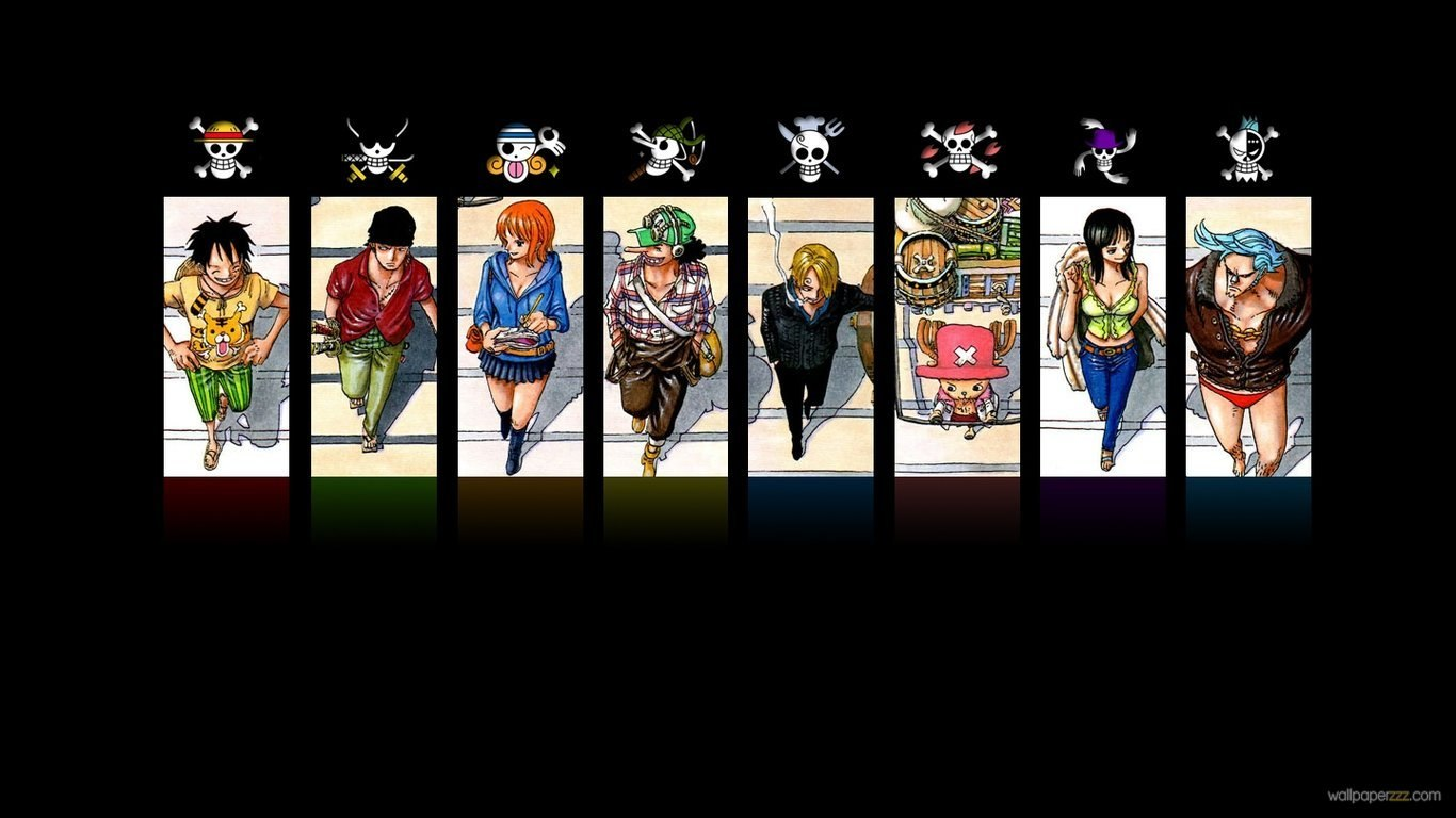 Wallpapers one piece 1366x768 HQ WALLPAPER   44874 1366x768