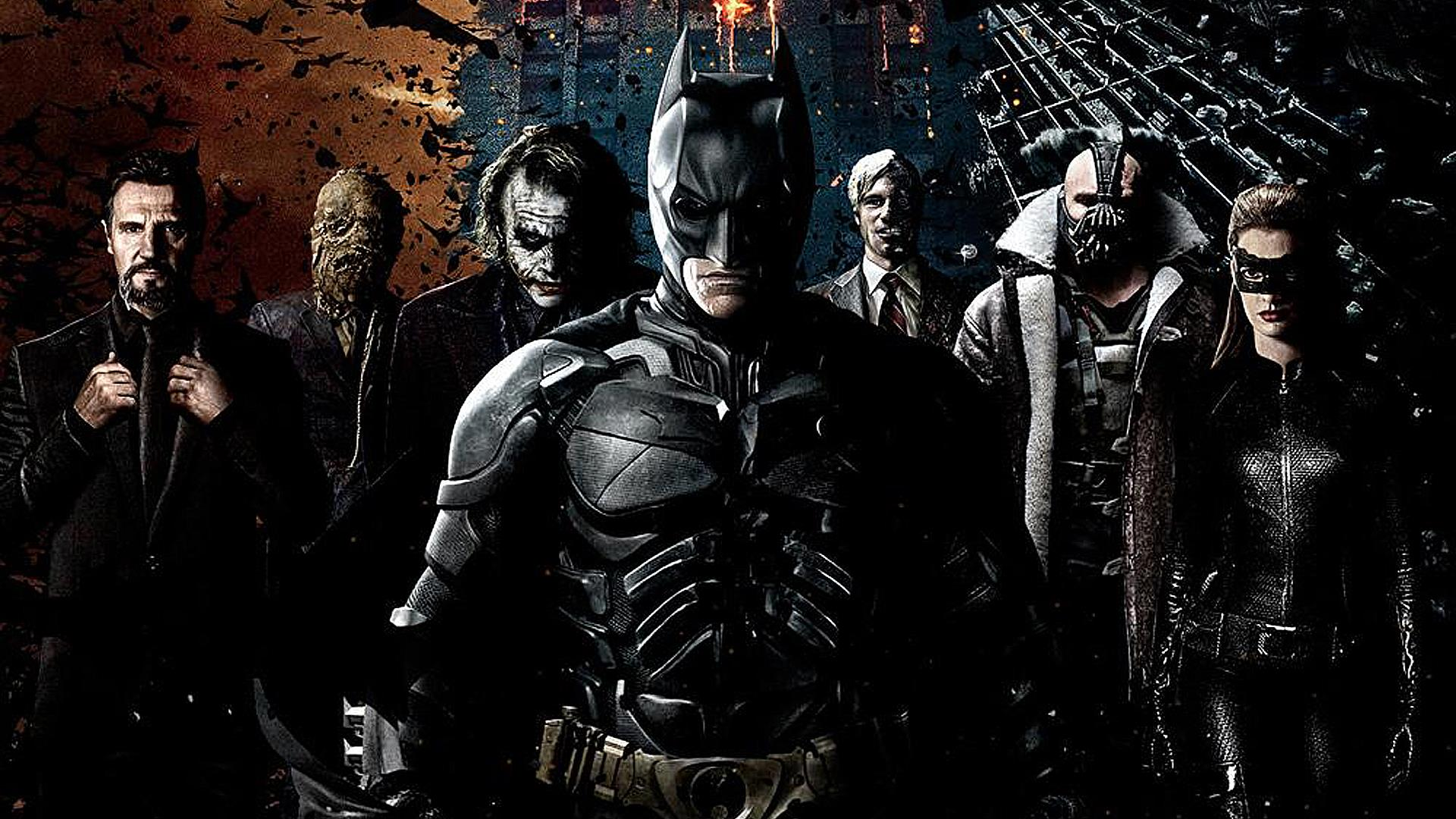 Free Download The Dark Knight Rises Computer Wallpapers