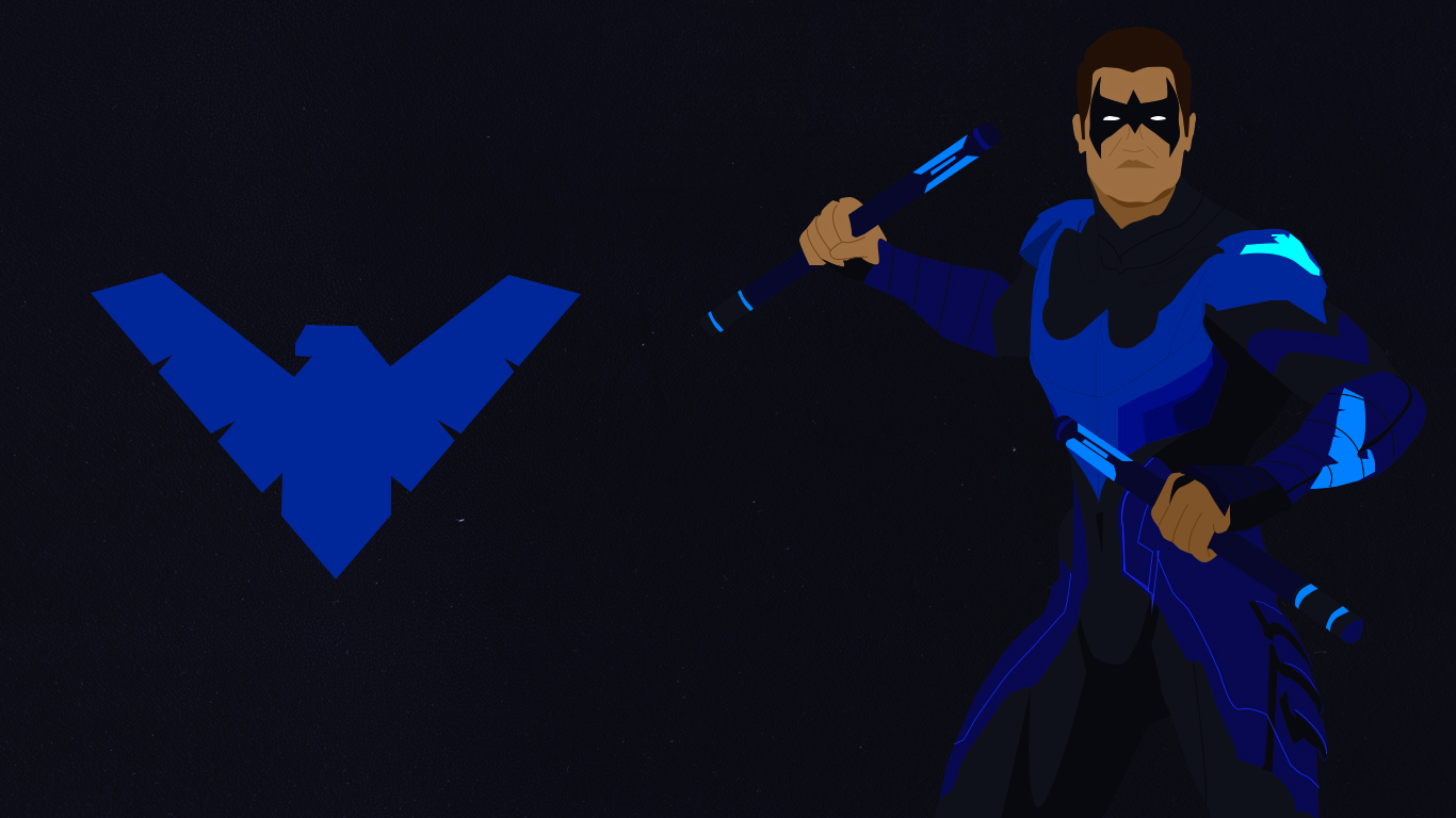 Nightwing Computer Wallpapers Desktop Backgrounds 1366x768 ID 1366x768